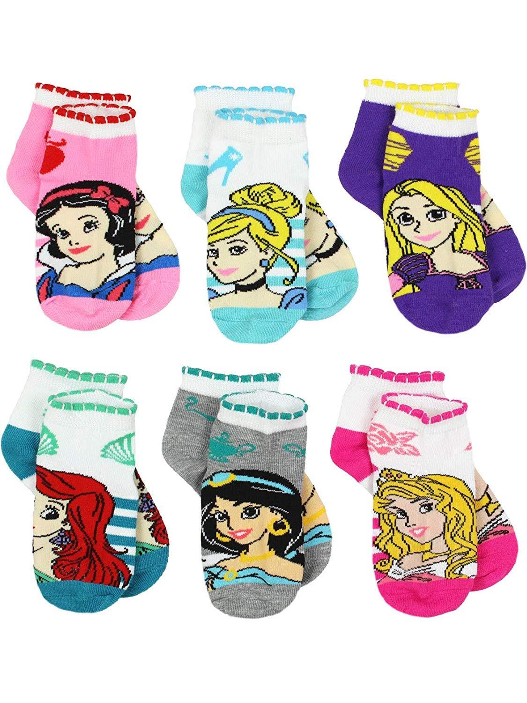 Princess Girls' Socks Disney