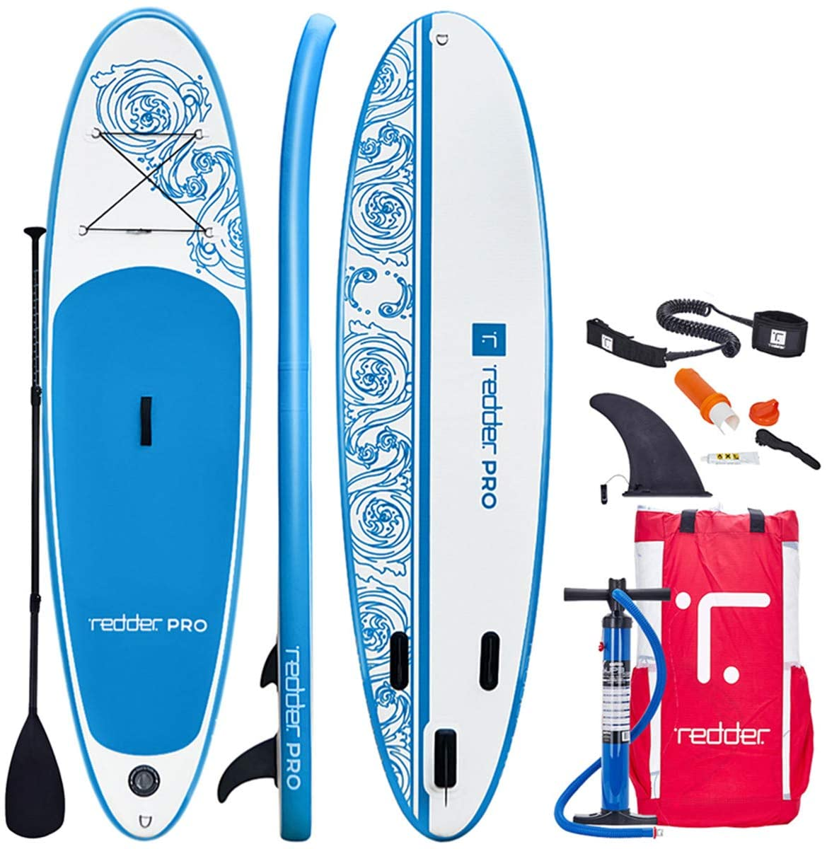 Redder Inflatable SUP Board Vortex