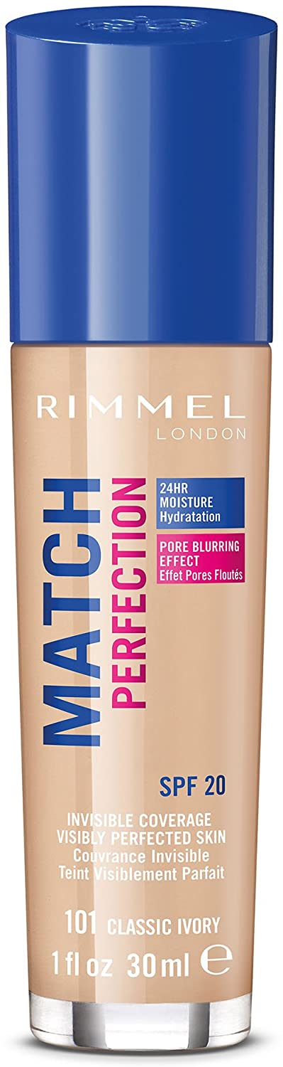 Rimmel London Match Perfection Liquid Foundation