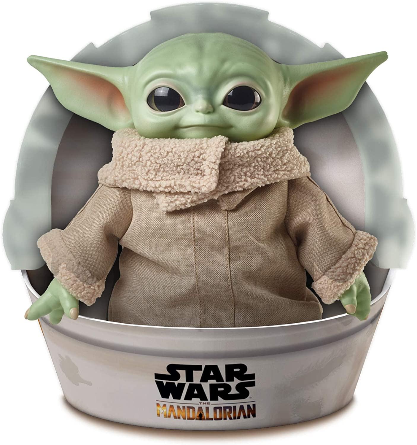 Roulette Star Wars The Child Plush Toy 11 Inch Small Yoda Like Soft Figure From The Mandalorian GWD85