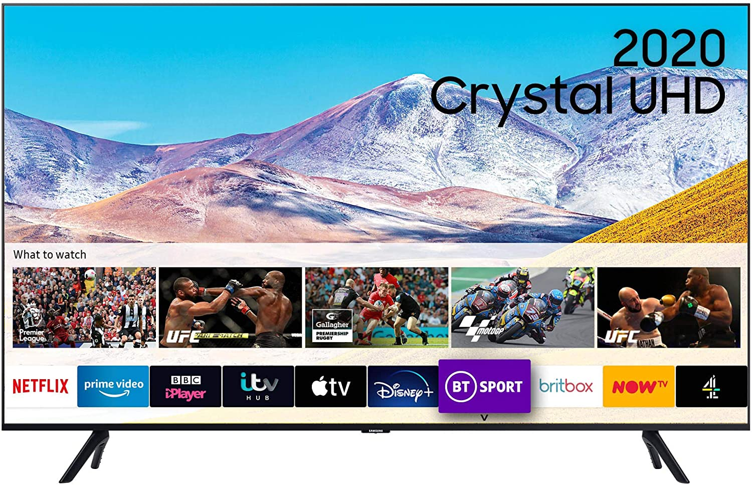 """Samsung 43"""" TU8000 HDR Smart 4K TV with Tizen OS"""