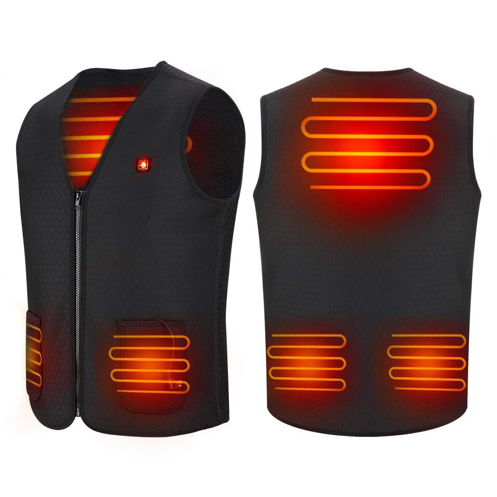 Sesecolor Washable Electric Heating Vest