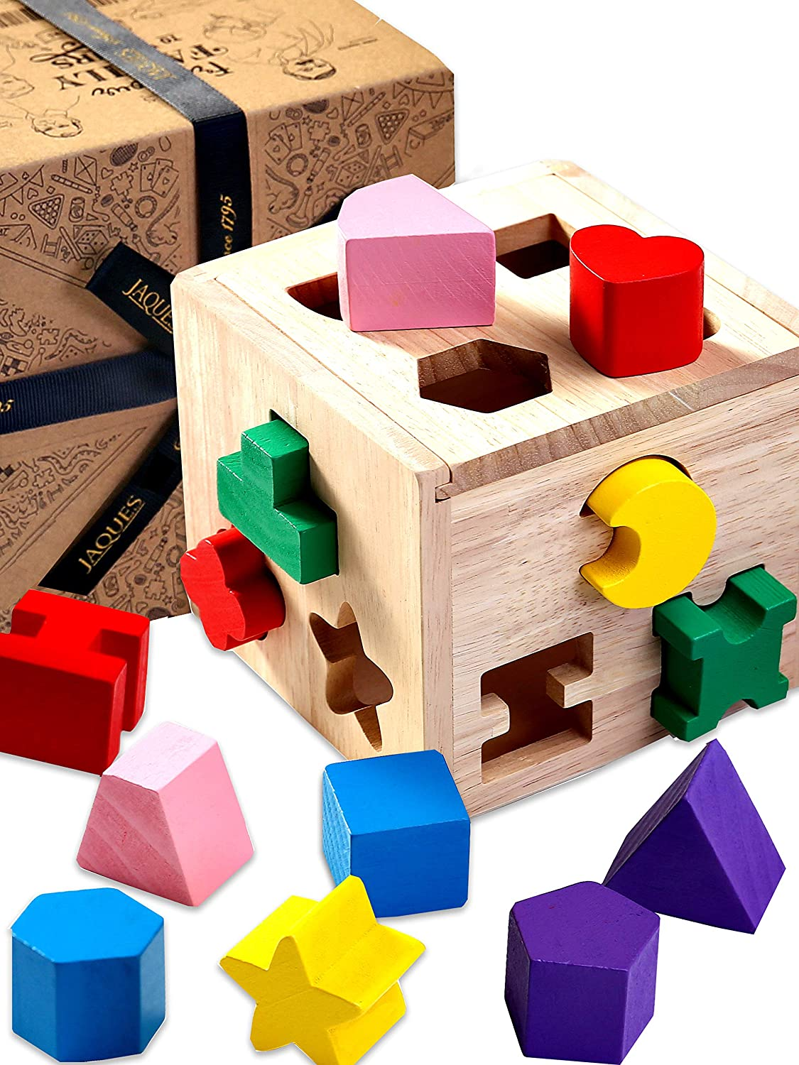 Shape Sorting Cube Jaques of London