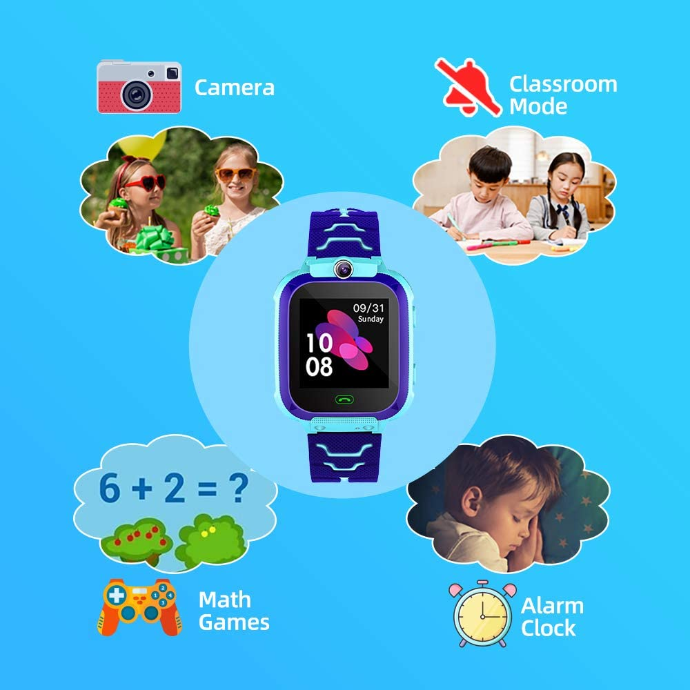 Smart Watch for Kids with LBS Track