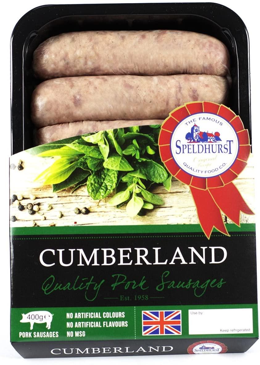 Speldhurst Quality Cumberland Pork Sausage
