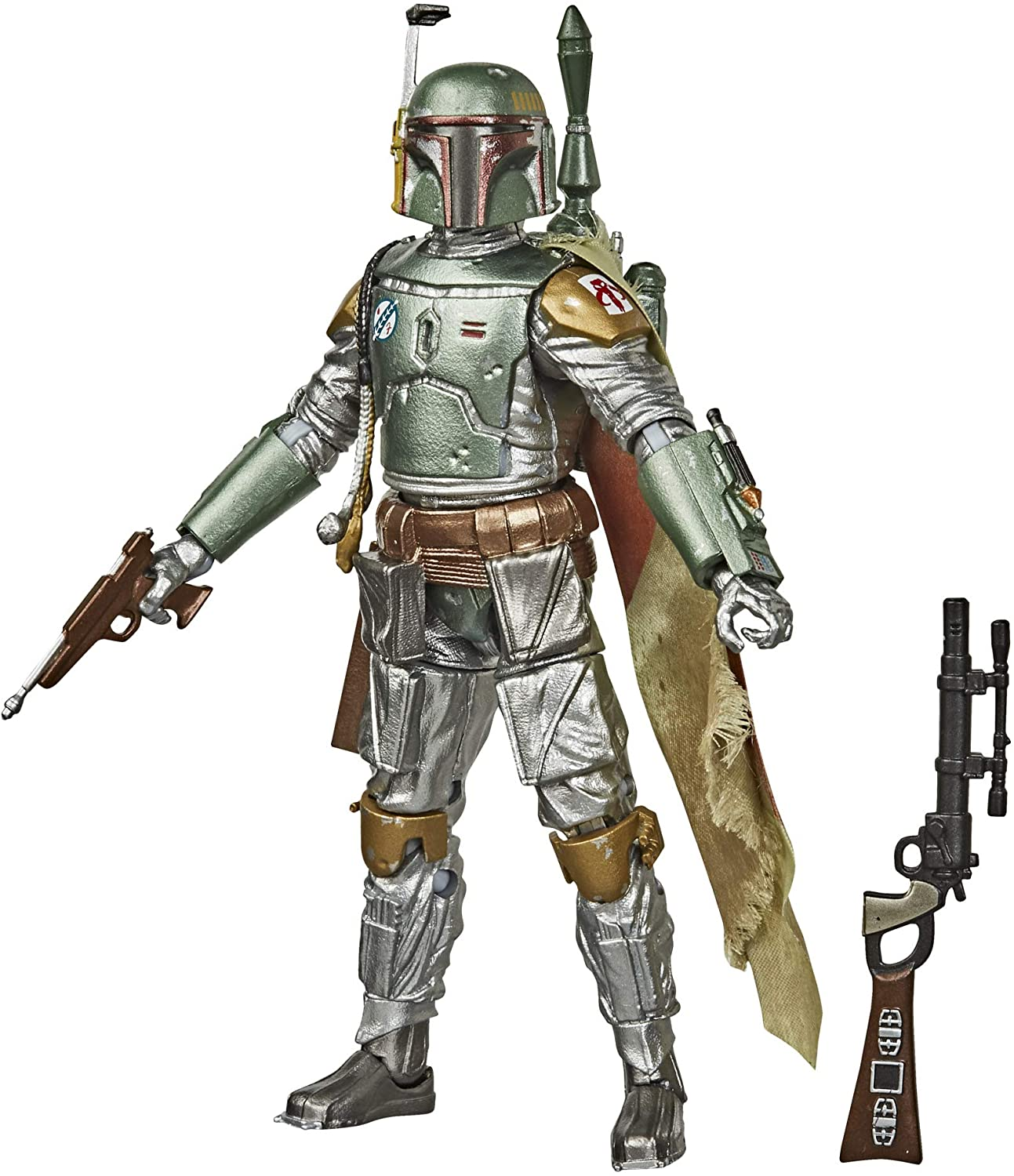 Star Wars The Black Series Carbonized Collection Boba Fett Toy Figure