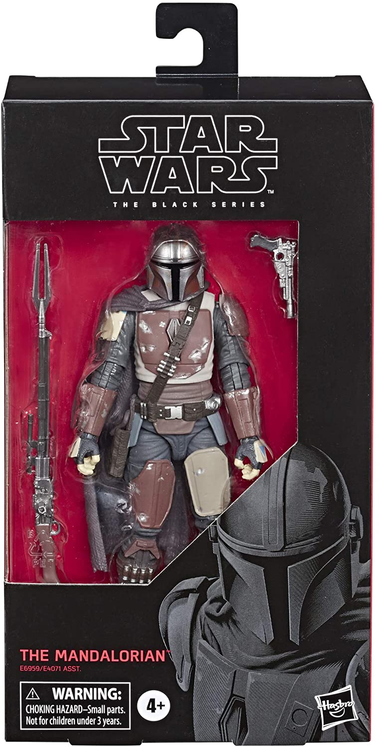 Star Wars The Black Series The Mandalorian Toy 6 Inch Scale Collectible Action Figure