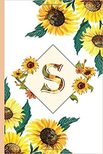 Sunflower Journal Yellow Sunflower
