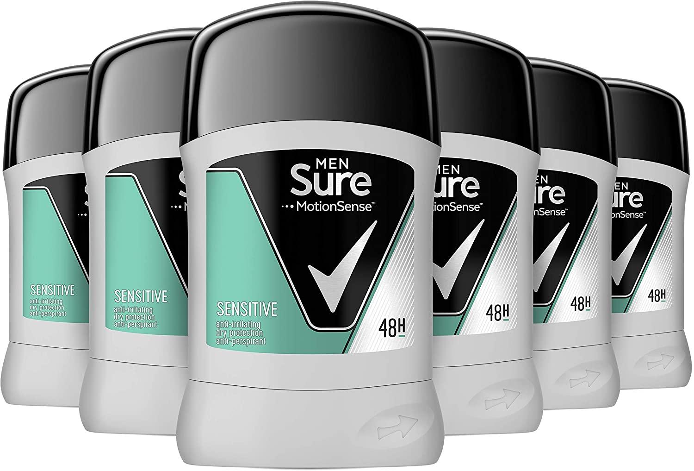 Sure Men Sensitive Antiperspirant Deodorant Stick 50 ml