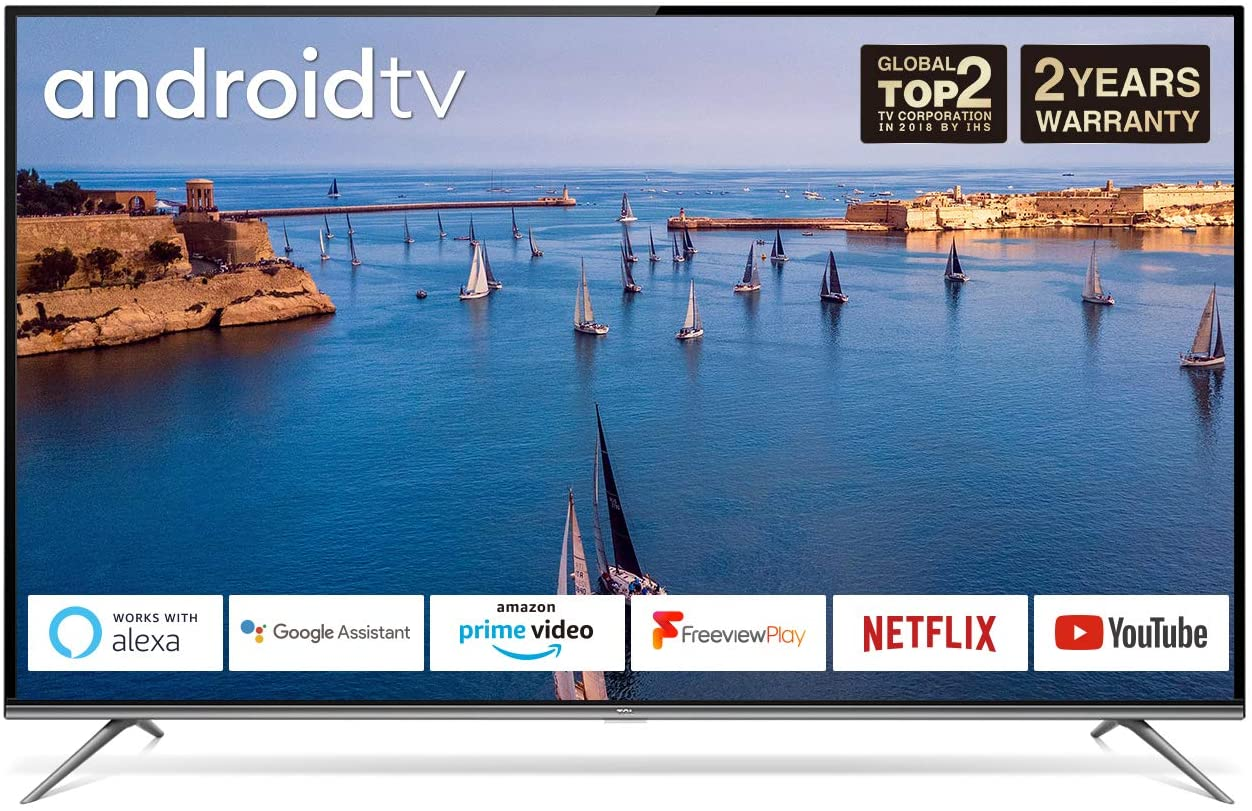 TCL 43EP658 Ultra HD Smart Android TV