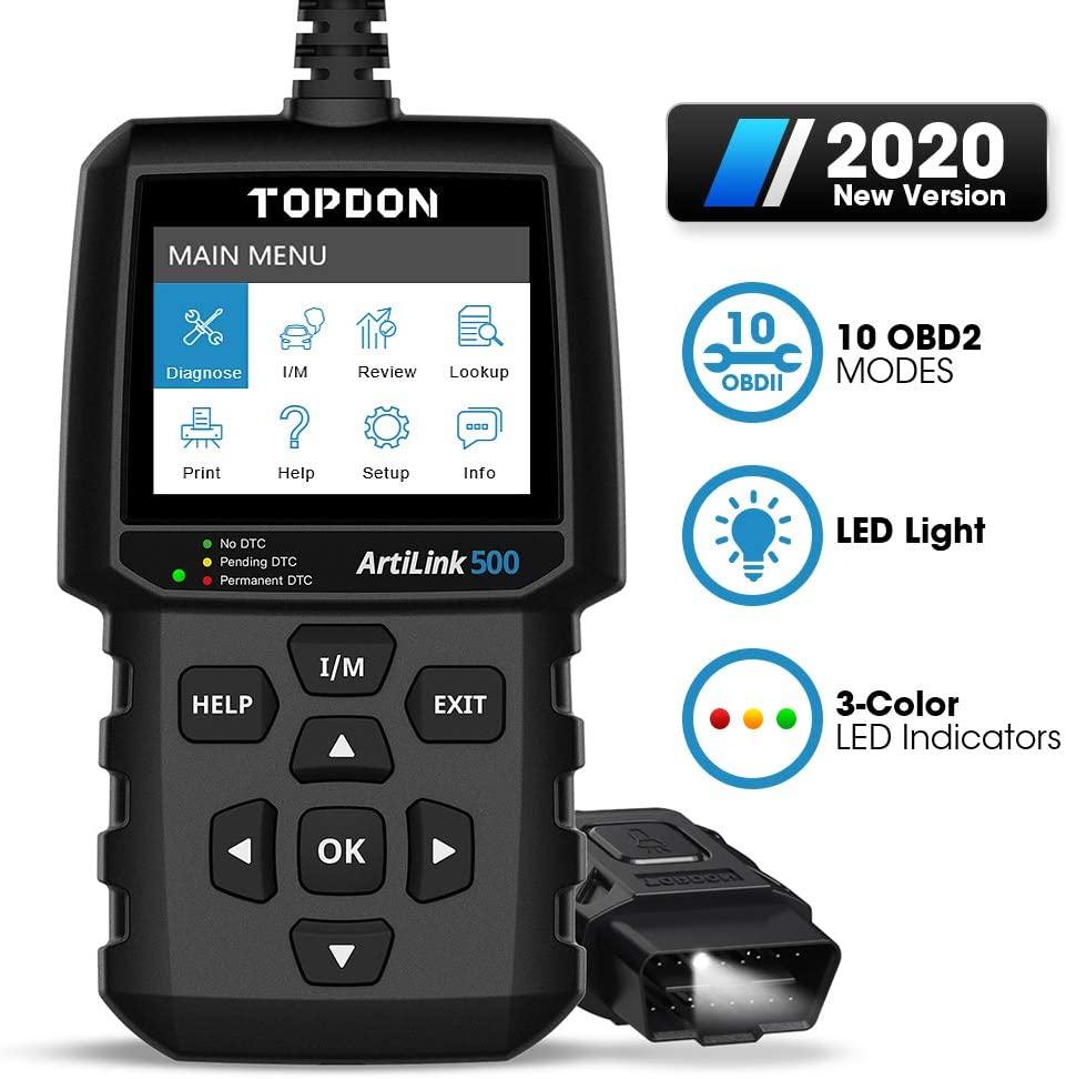 TOPDON AL500 OBD II scanner