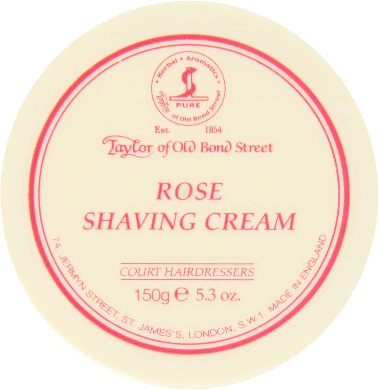 Taylor of Old Bond Street 150g Rose Shaving Cream