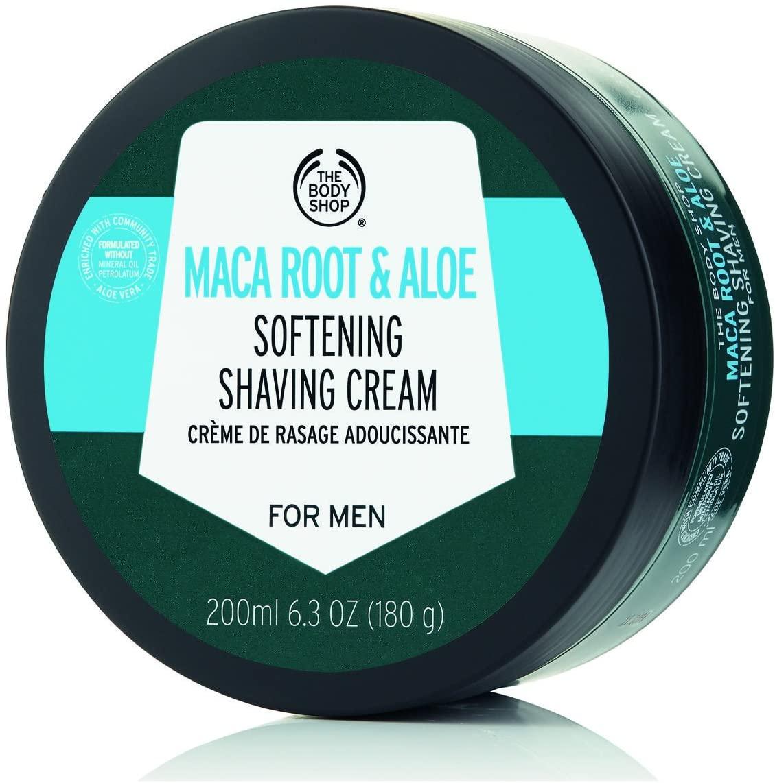 The Body Shop Maca Root and Aloe Softening Shaving Cream 200ml
