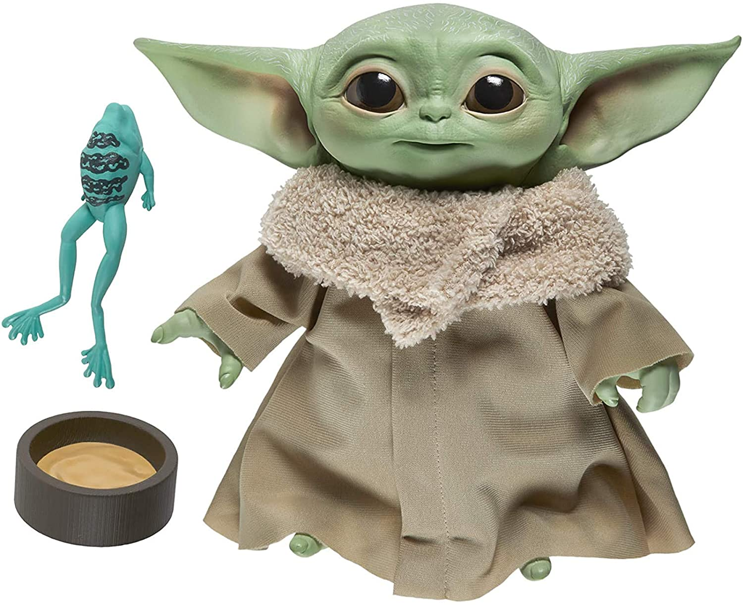 The Child Talking Plush Figure with Sounds and Accessories, The Mandalorian Toy, Baby Yoda