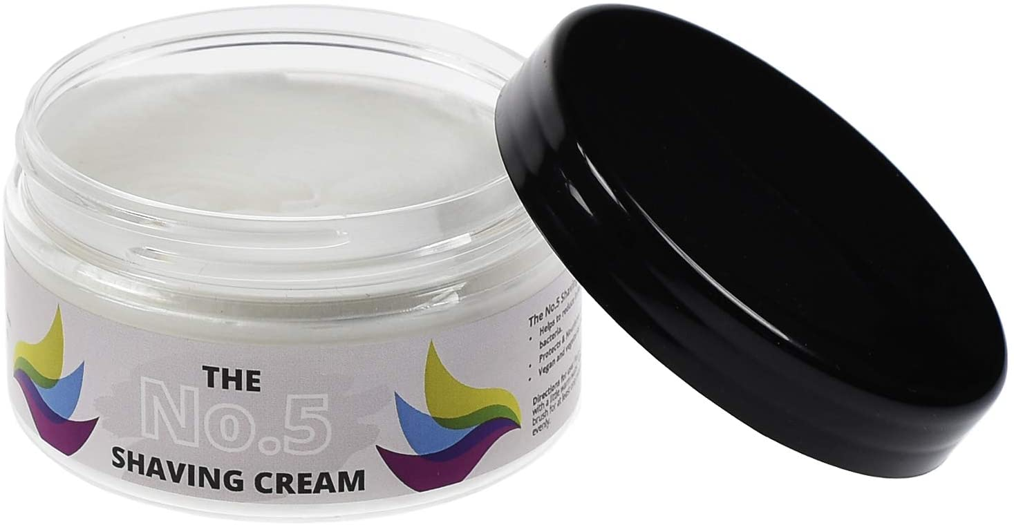 The No.5 Traditional Shaving Cream - Perfect for Sensitive Skin