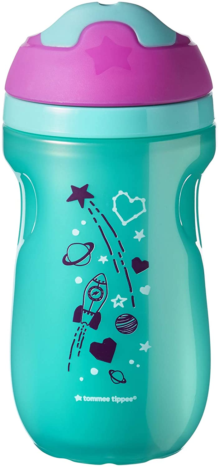 TommeeTippee Insulated Sippee Cup, 12 Months Plus, Pink
