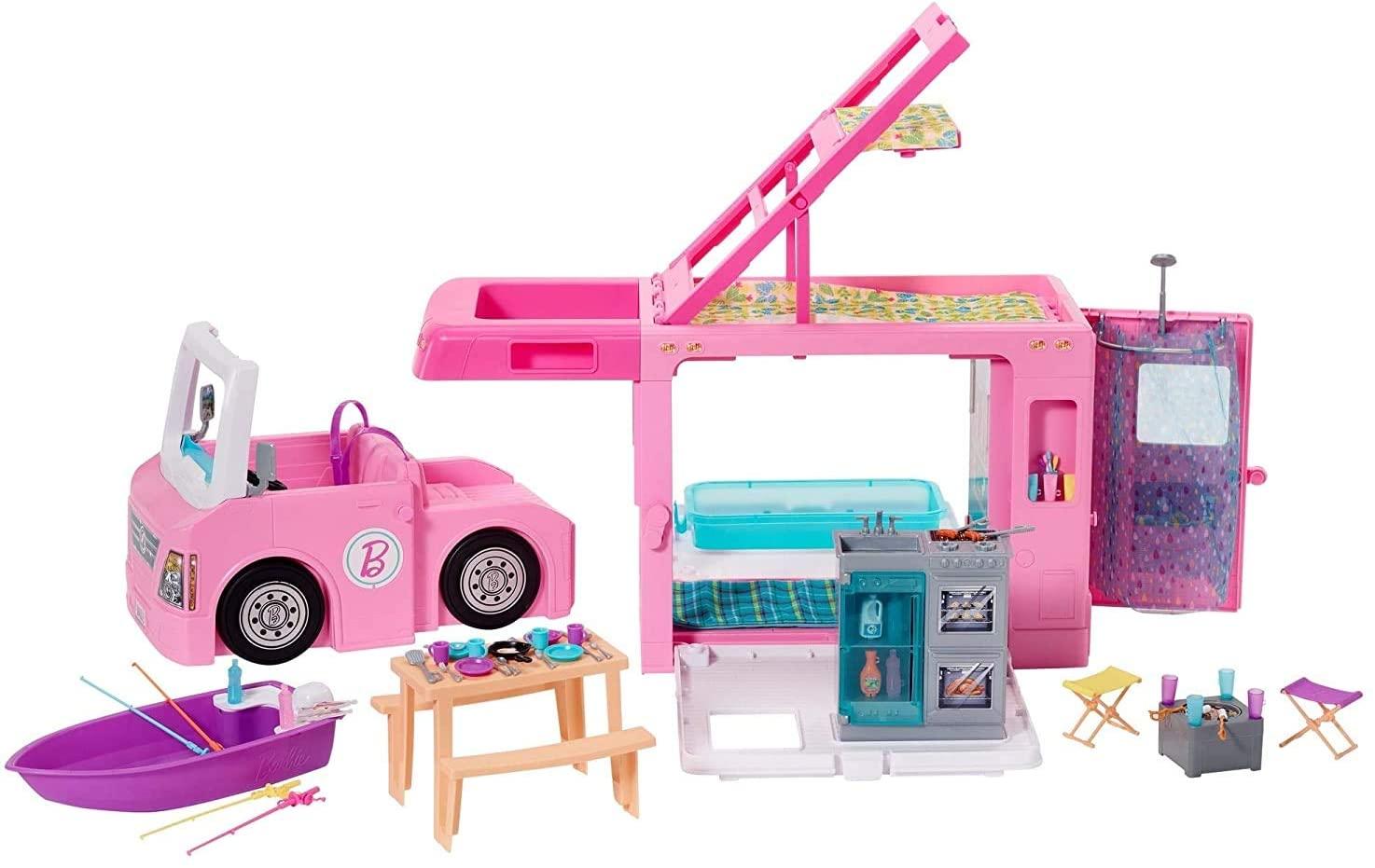 Barbie 3-in1 Dream Camper Playset