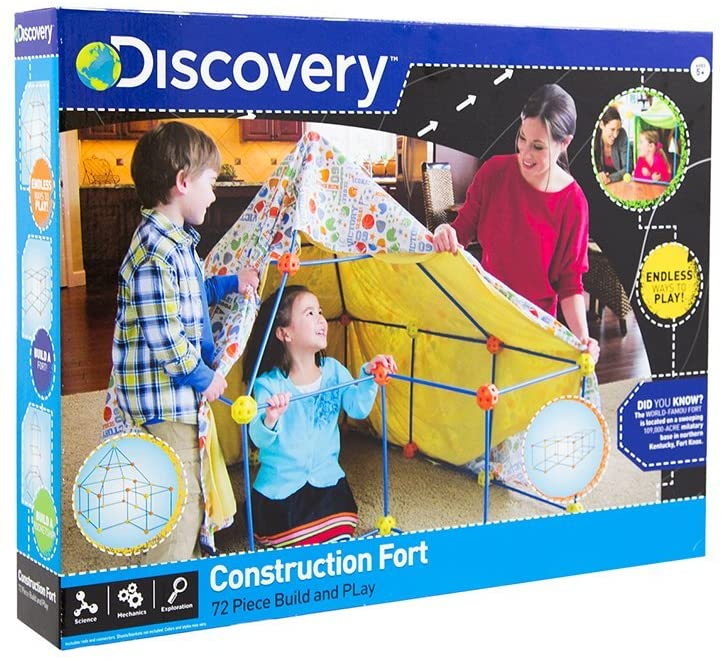Build Your Cabana' Construction Fort Discovery