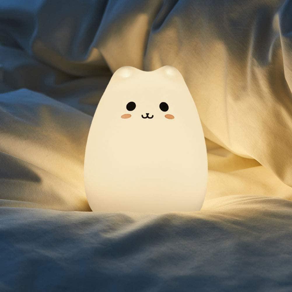 Cat Lamp Baby Night Light CDUTA