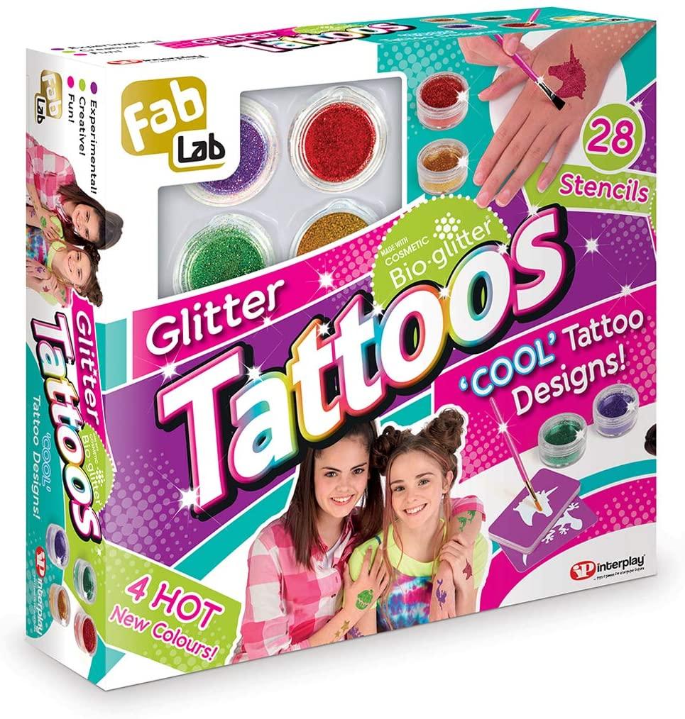 Glitter Tattoos FabLab