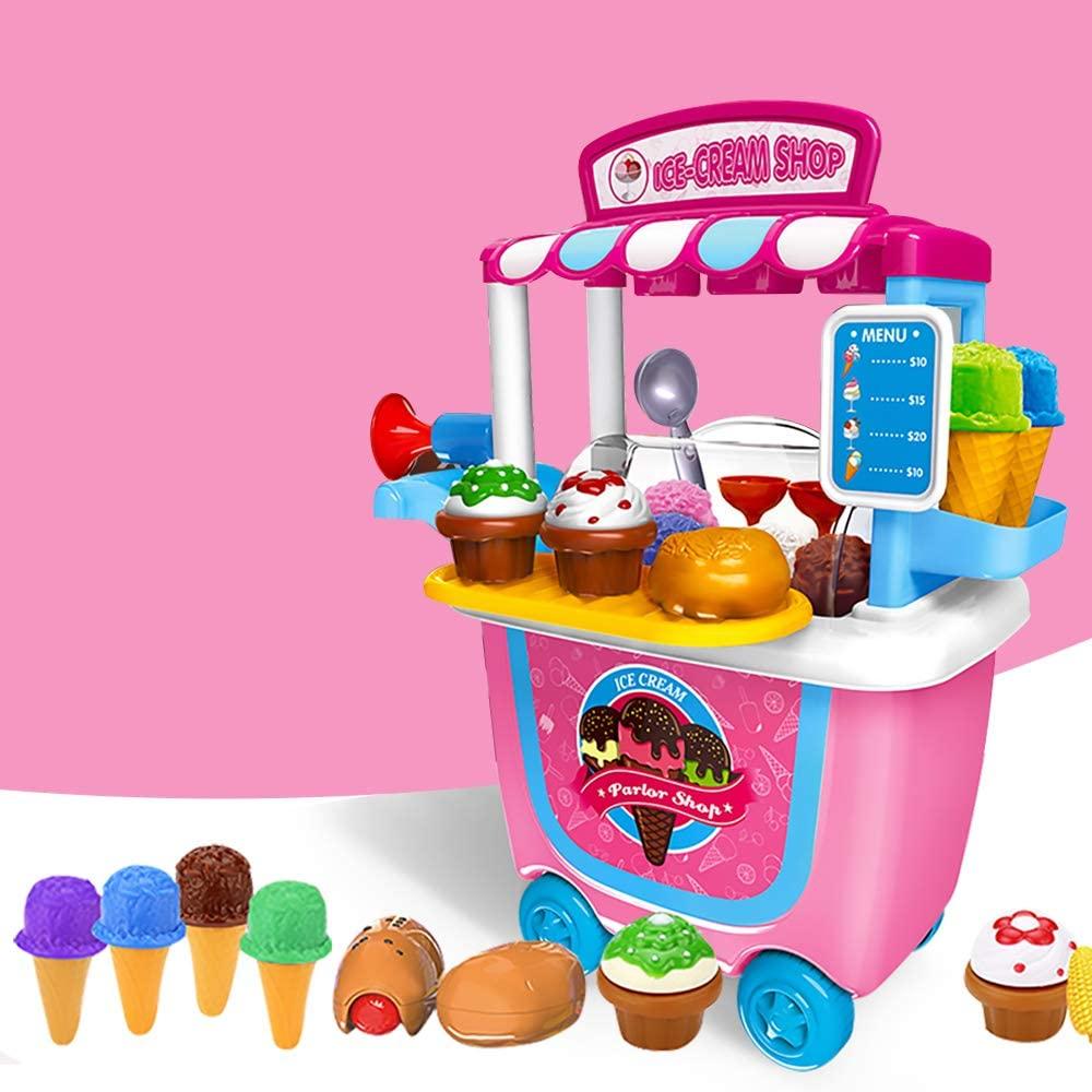 Ice Cream Cart Play Food GizmoVine