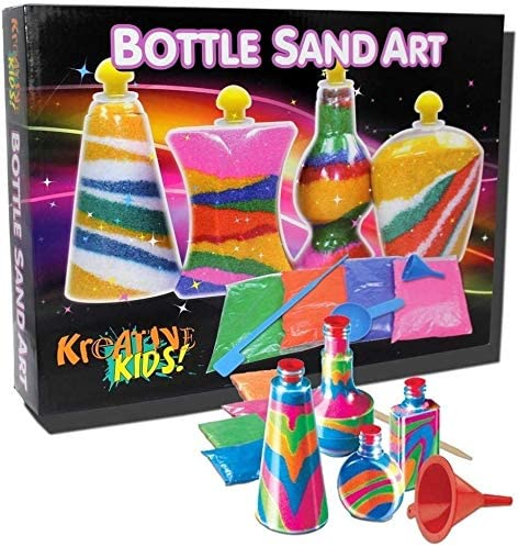 KandyToys Kreative Kids Bottle Sand Art Children's Craft Activity Set