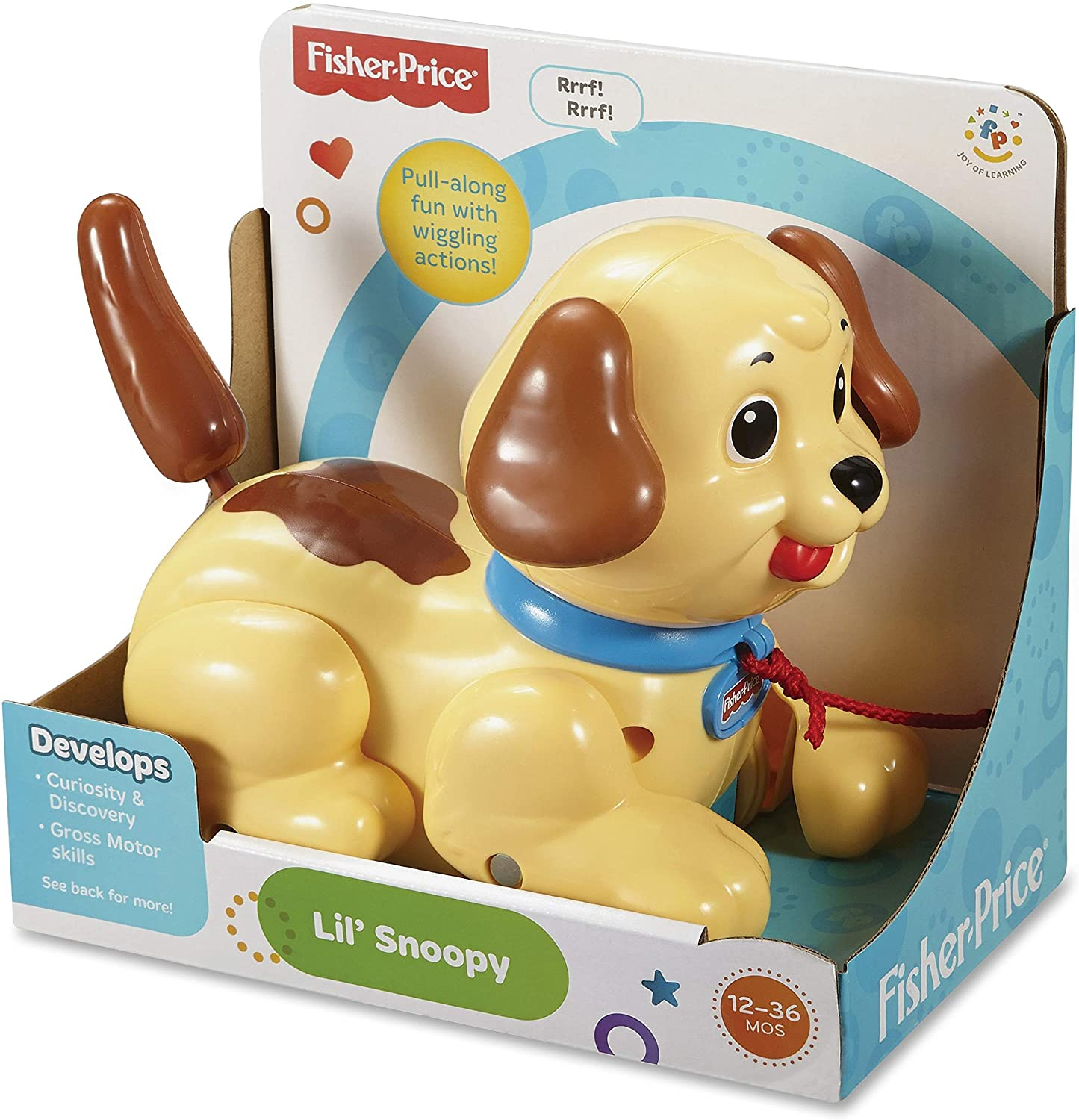 Lil' Snoopy Pull-Along Dog Fisher-Price
