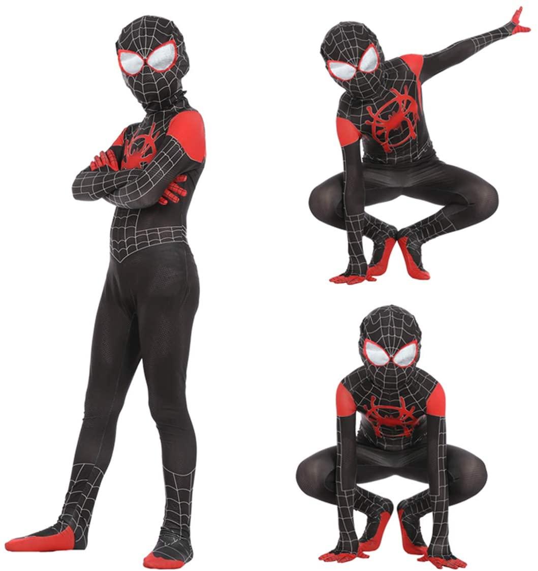 Miles Morales Cosplay Costume Leezeshaw