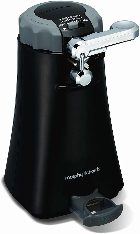 Morphy Richards Multifunction Can Opener 46718 Black