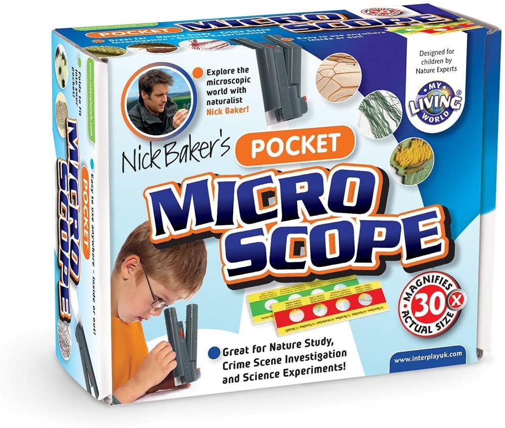 My Living World LW004 Interplay Pocket Microscope