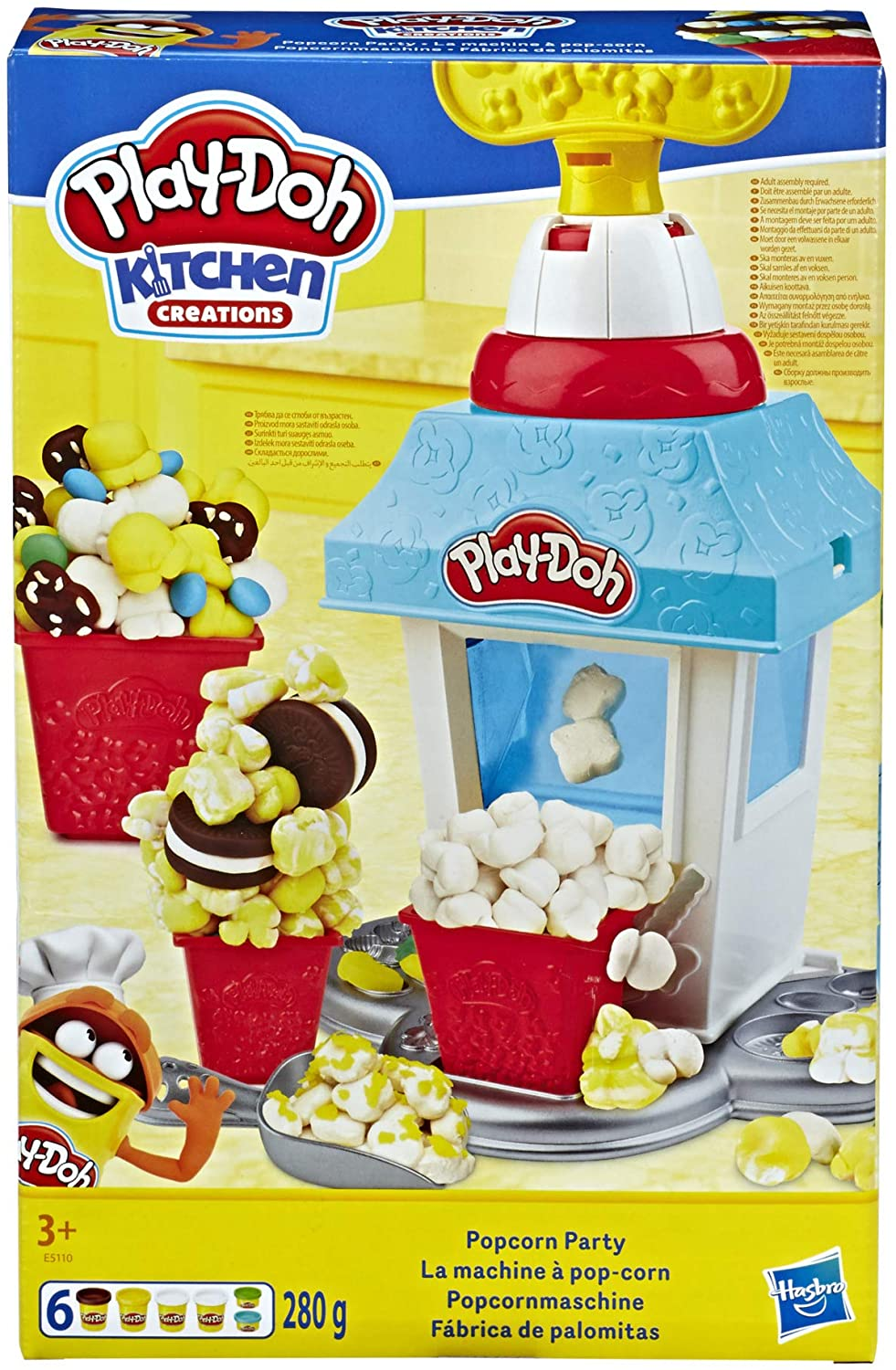 Play-Doh Kitchen Creations Popcorn Party Play
