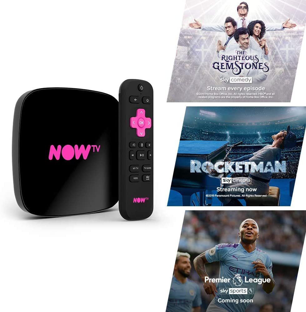 Sky Now TV Stick with 4K