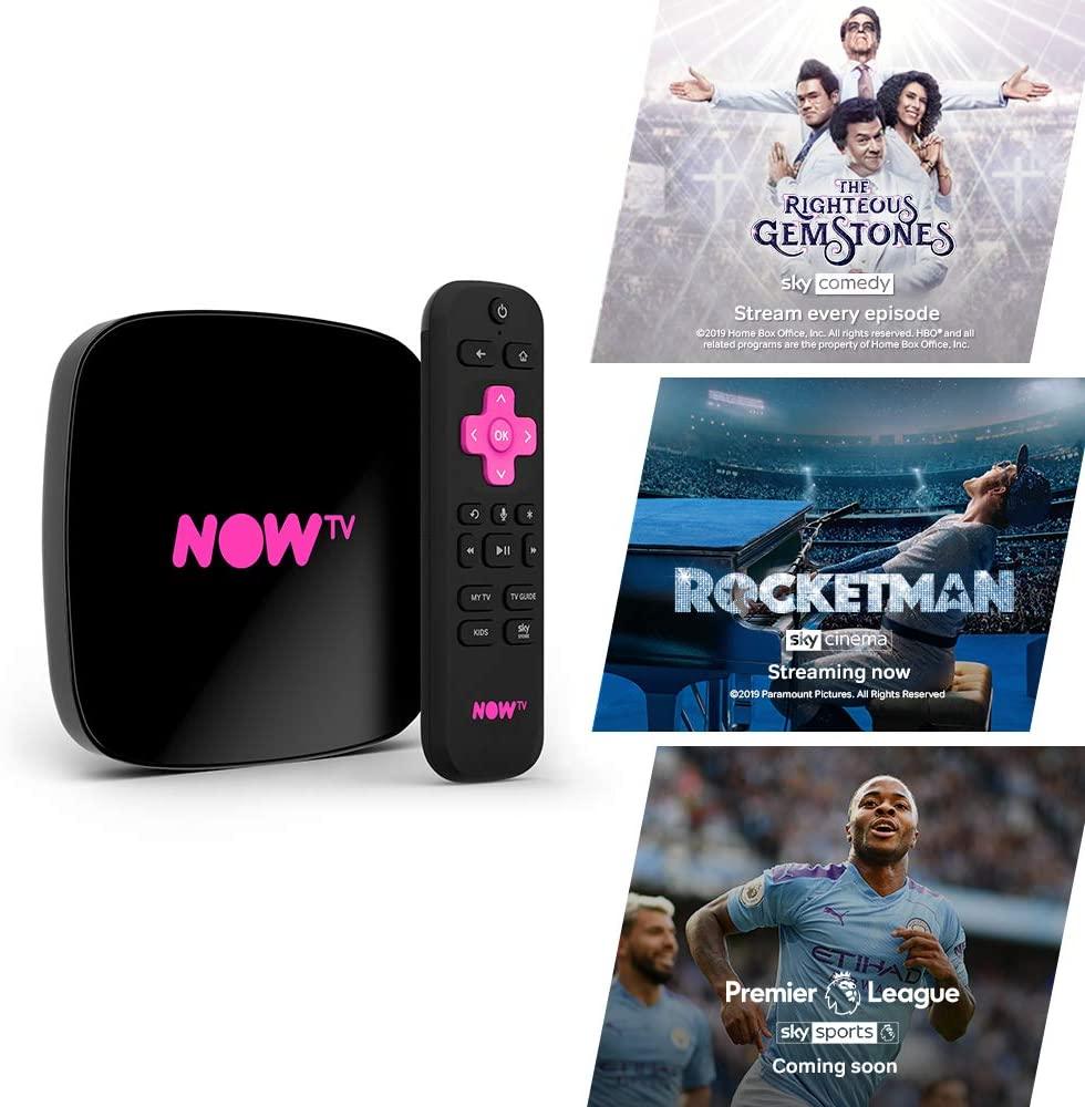 Sky Now TV Stick with 4K