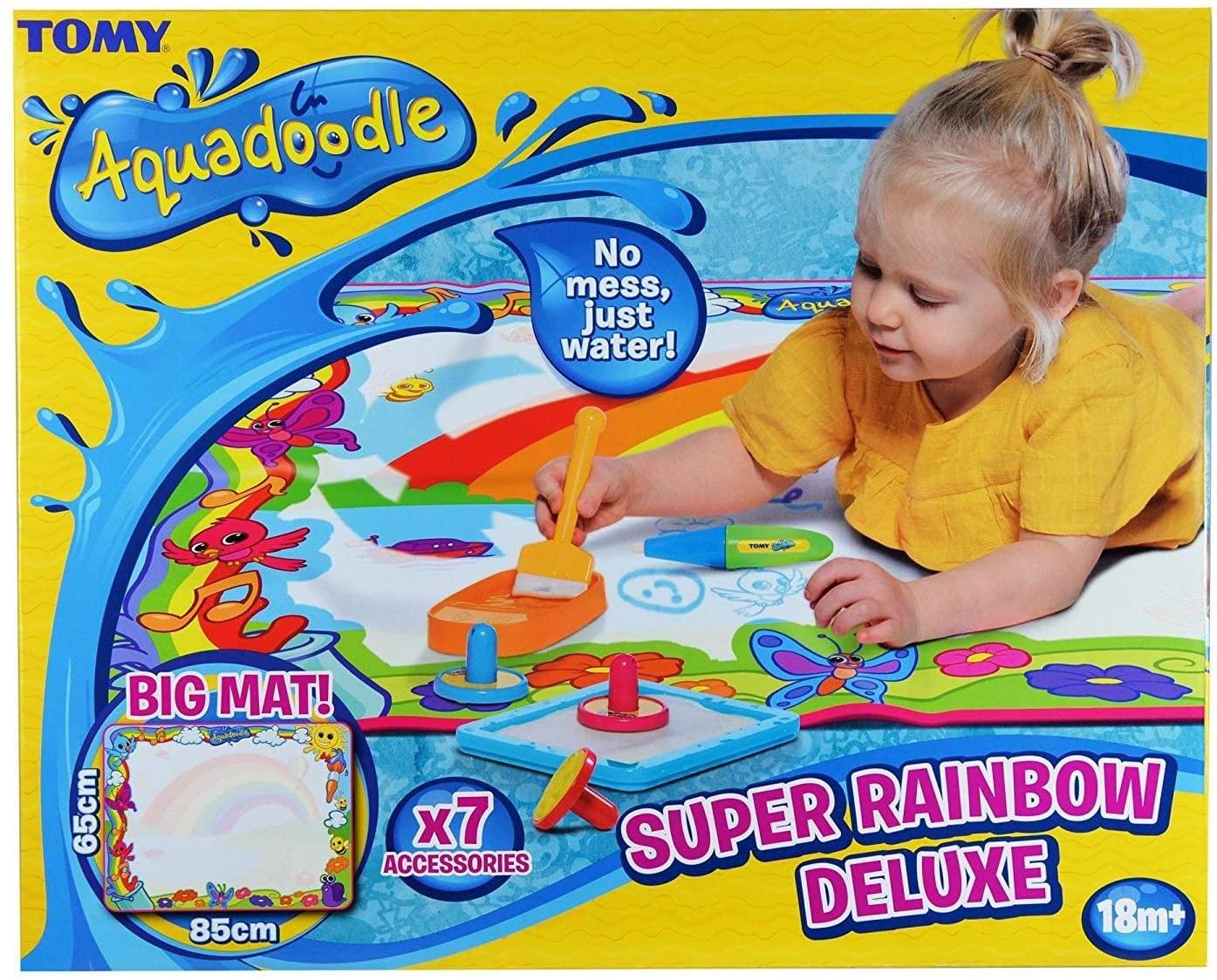 Super Rainbow Water Drawing Mat AquaDoodle
