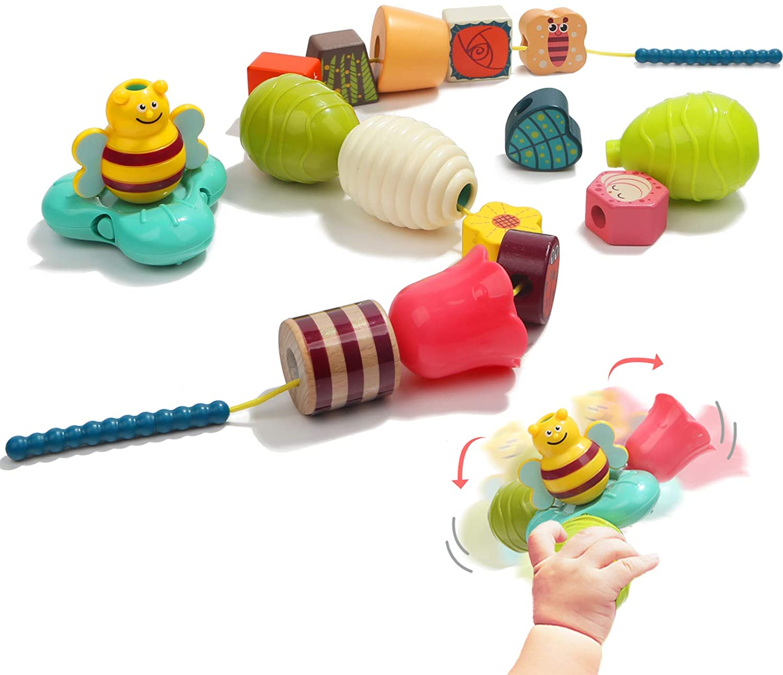 Toddler Threader Beads TOP BRIGHT