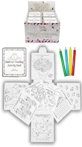Wedding Favour Activity Pack. Children's, Kids, party bag