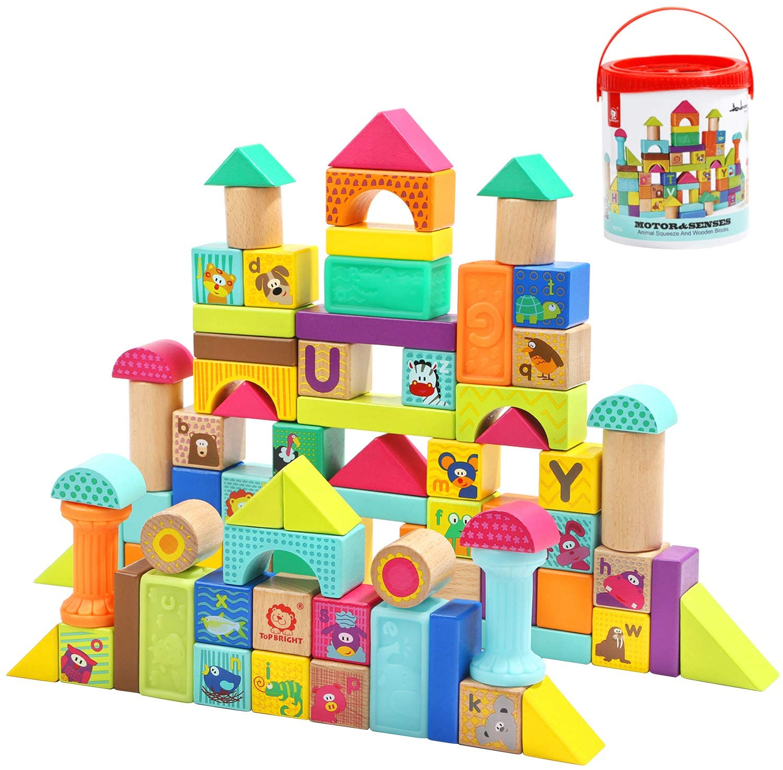 Wooden Building Blocks TOP BRIGHT