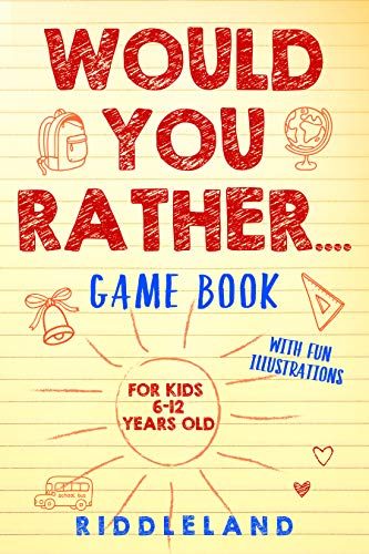 Would You Rather' Game Book Riddleland