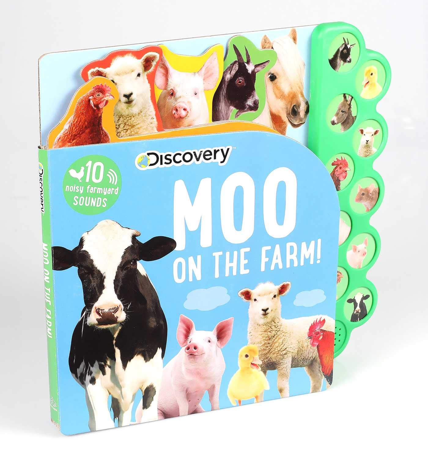 Moo on the Farm Board Book – Sound Book