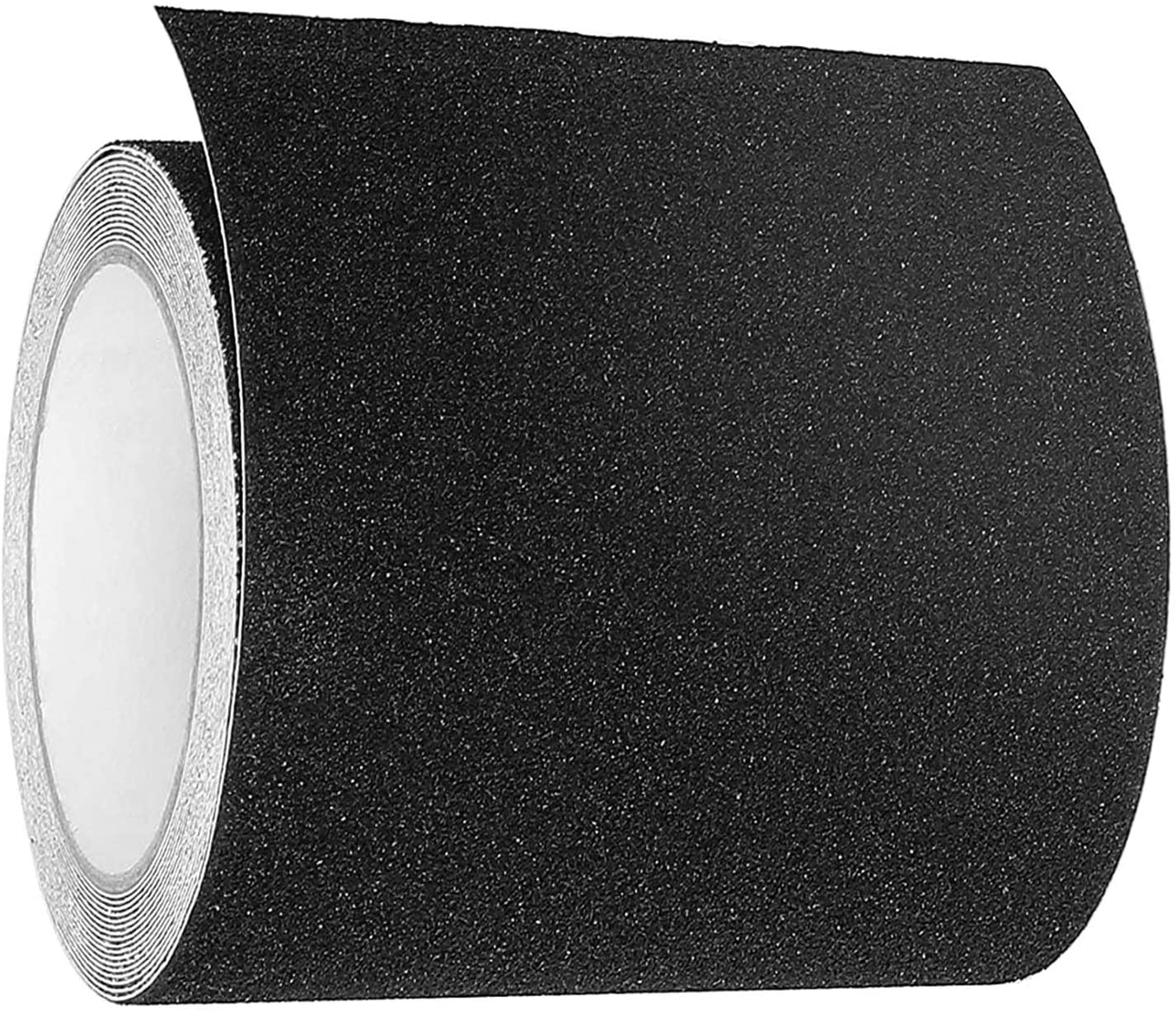 Anti Slip Tape Black, Non Slip Safety Grip Tape for Stairs Steps Non Skid Tread High Traction Friction Adhesive Tape