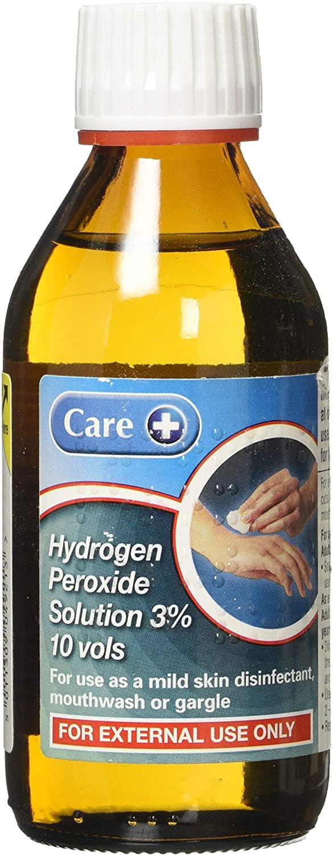 Care Hydrogen Peroxide 3% 10Vol 04928 200ML