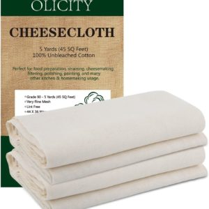 Substitute for Cheesecloth