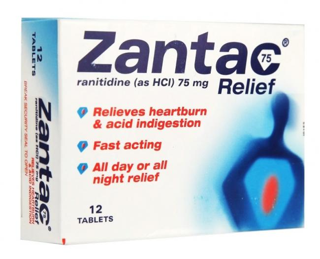 Substitute for Zantac