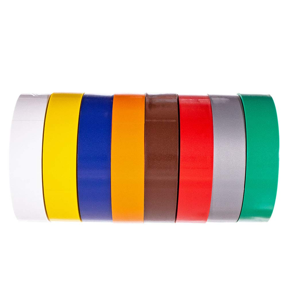 Vinyl Plastic General Purpose Electrical Insulation and Phasing Tape